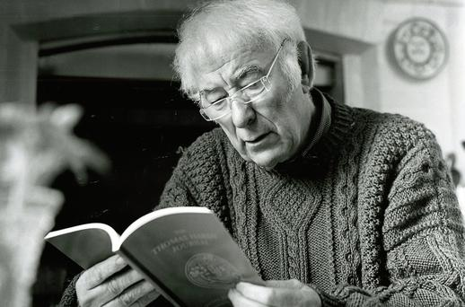 The weather is a constant theme in the poetry of Seamus Heaney
