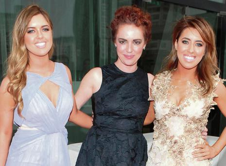 Bonnie, Morah and Lottie Ryan pictured at The Peter Mark VIP Style Awards 2014 at The Marker Hotel Dublin. Picture:Brian McEvoy
