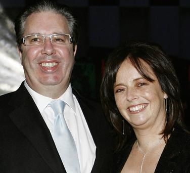 Gerry Ryan and Melanie Verwoerd