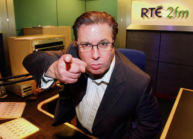 Electric Personality: RTE radio broadcaster, the late Gerry Ryan, was hugely popular with listeners. Photo: Mark Condren