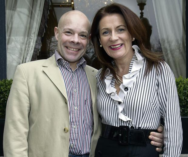 Marc Gysling and Deirdre McGlone, owners of Harvey's Point Hotel in Donegal. Photo: Tony Gavin