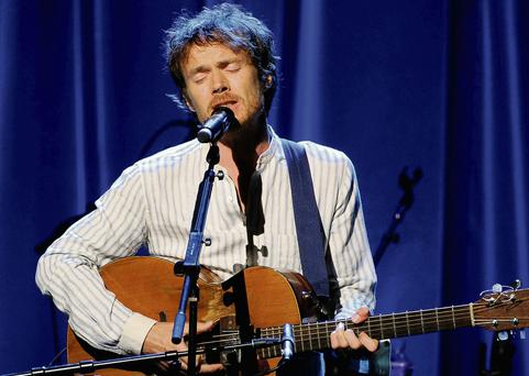 Damien Rice preforms at Whelan's tonight. Photo: Getty