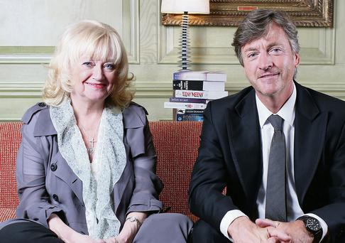 TV couple: Richard Madeley and Judy Finnigan. Photo: Clara Molden
