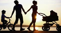 Families need to get more exercise together