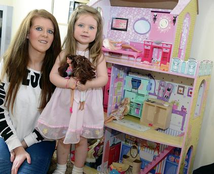 Aoife Gallagher got a bargain Barbie house for her daughter Lily
