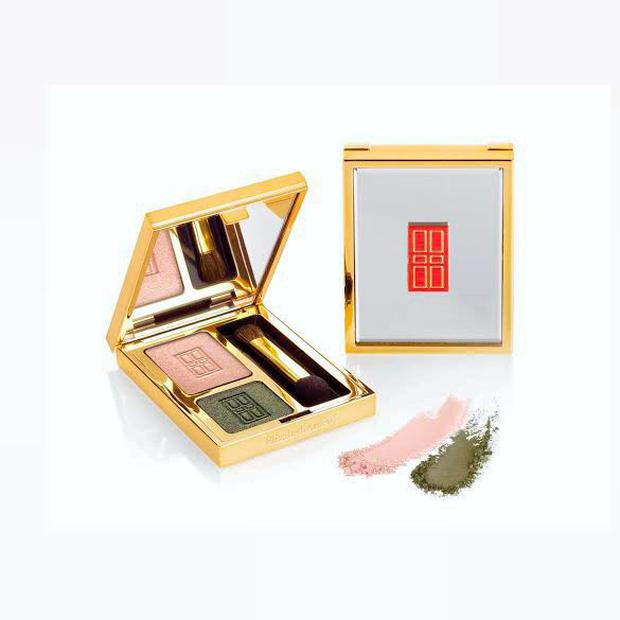 Elizabeth Arden Beautiful Coloour Eye Shadow Duo in Classic Khaki