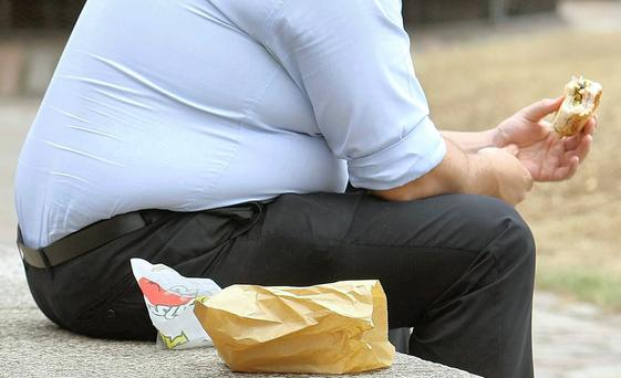 The rate of obesity here is higher than in most other European countries