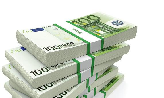 The end of August saw the Exchequer record a deficit of €329m, compared to a €1.291bn over spend in the same period last year (Stock picture)
