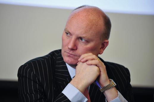 According to the financials filed in Dublin last week, directors' loans to the Libertas Institute stand at €2.3m and Declan Ganley has provided loans to the company himself... at an interest rate of 11pc. Picture: Damien Eagers