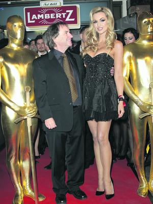 Chris De Burgh and daughter Rosanna Davison attend the Lambertz Monday Night 2011 Schoko & Fashion party at the Alten Wartesaal on January 31, 2011 in Cologne, Germany.  (Photo by Andreas Rentz/Getty Images)
