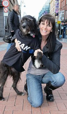 Linda Martin is involved in rescuing animals