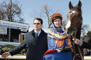 Aidan and Joseph in 2013 at Leopardstown.
