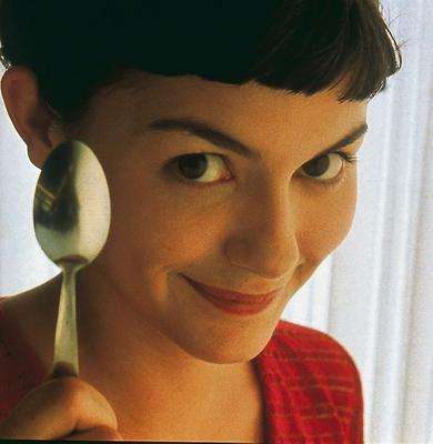 Audrey shot to fame in 'Amelie'.