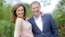 Celia Holman Lee with her husband Ger pictured at home in Limerick