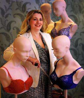 MEASURING UP: Clara Halpin says most women are wearing the wrong size