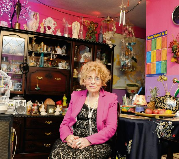 Heart of gold: Rio Hegarty was a foster mum for 40 years as well as having her own kids