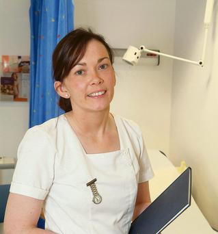 Crucial role: Teresa McKeogh works as a breast cancer research nurse