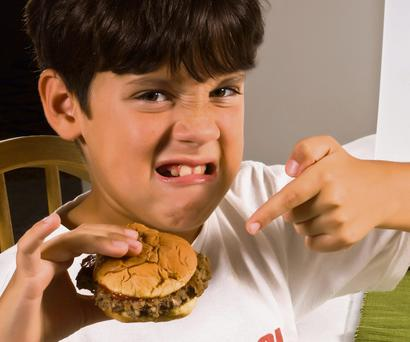 It is very natural for parents to worry about what children eat