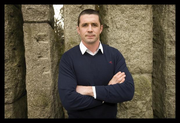 Alan Quinlan, former Munster and Ireland rugby player.