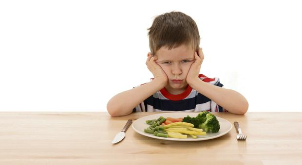 A fifth of the food Irish children now consume are treats high in fat, sugar or salt, and these foods have displaced fruit and vegetables in daily diets, according to Safefood. Picture posed
