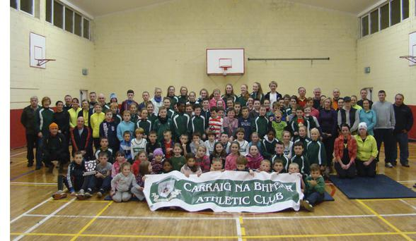 Members of all ages at Carraig na bhFear AC in Cork