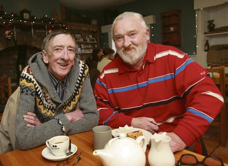 Leo Kelly and Eamonn Lawless meet for a chat and a cuppa