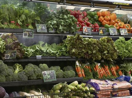 An example of vegetables on offer in a supermarket. Photo: Thinkstock
