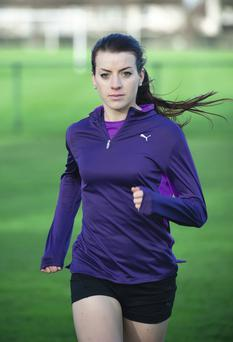 Irish 800m runner Ciara Everard, who works and trains at UCD, is studying for a Masters in sports physiotherapy.