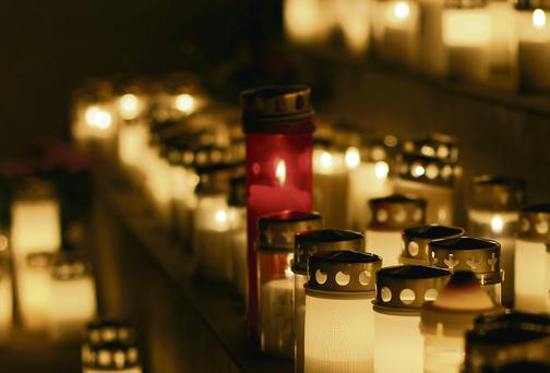 Following the death of her friend Tom O'Gorman, Patricia Casey attended a candlelight vigil which commemorated him and helped deal with his loss. Photo: Thinkstock