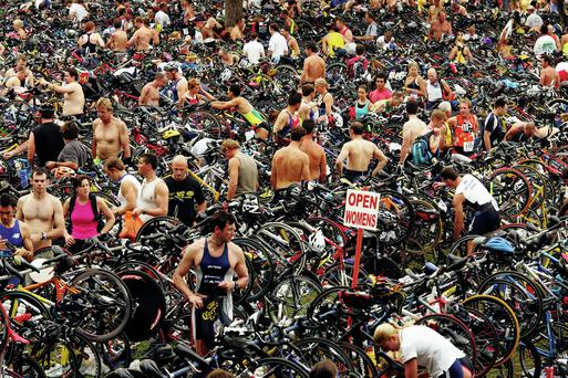 The Noosa Triathlon is the largest triathlon in Australia.