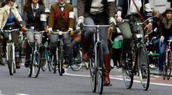ACTIVE: Consider cycling to work or just get off at an earlier bus stop