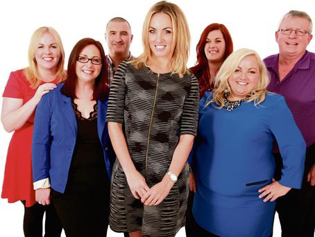 CHALLENGE: Presenter Kathryn Thomas and the 'Operation Transformation' leaders whose battle with the bulge kept viewers enthralled for eight weeks