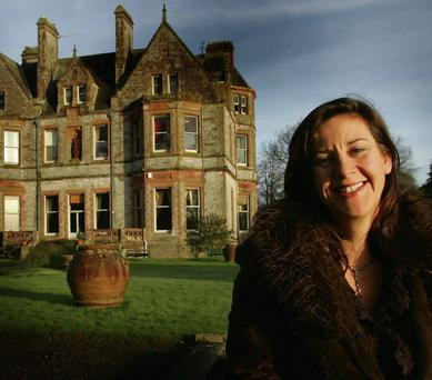 HISTORY: Sammy Leslie outside Castle Leslie in Glaslough, Co Monaghan in 2007. Photo: Tom Conachy