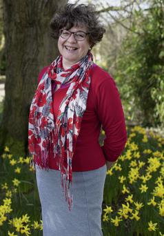 Anne Alcock believes that there is wisdom in 'doing' and 'having' a little less. Photo: Clare Keogh