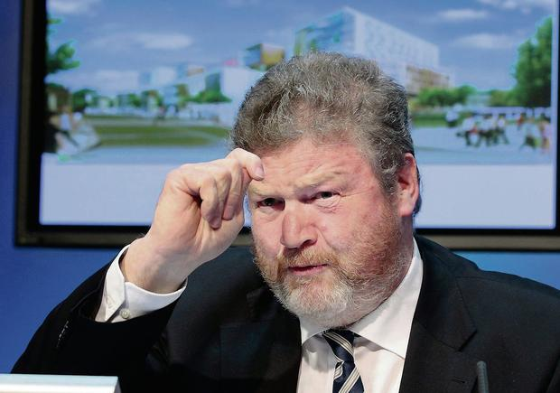 Health Minister James Reilly is tipped to be moved from his post