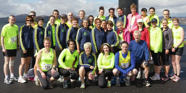 Participants in the Inishowen Half Marathon in Buncrana.