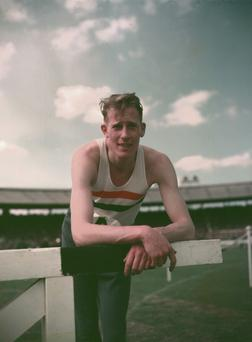 Roger Bannister, who recently revealed he is suffering from Parkinson's Disease