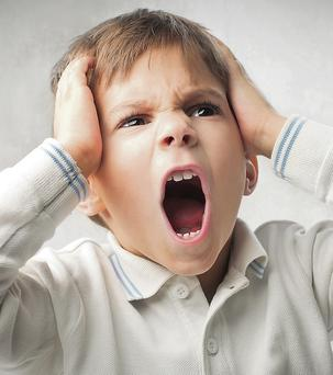 Tantrums can be associated with age.