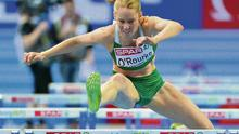 Hurdler Derval O'Rourke is a Queen B fan.