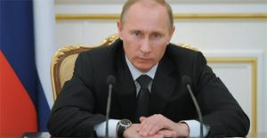 Russian Prime Minister Vladimir Putin accused the US of stirring social unrest in Russia