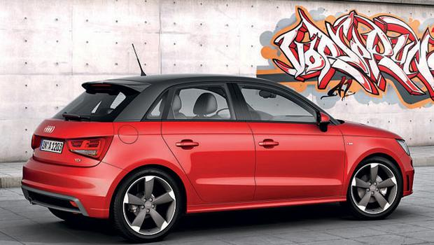 CLOSER INSPECTION: A fully specced-up A1 Sportback will cost around €26,000