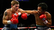 Ricky Hatton in action against Manny Pacquiao in 2009. Photo: Getty Images