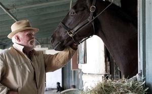 Nick Nolte stars in Luck, HBO's new horse-racing drama