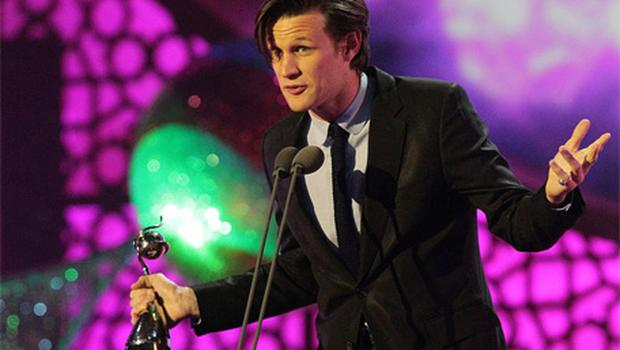 Doctor Who's Matt Smith picked up an NTA gong. Photo: PA