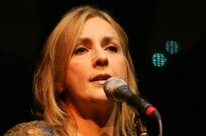 Clannad singer Moya Brennan who was among  200 people who gathered at a Co Donegal hotel last night to take part in a live online concert. Photo: Tony Gavin