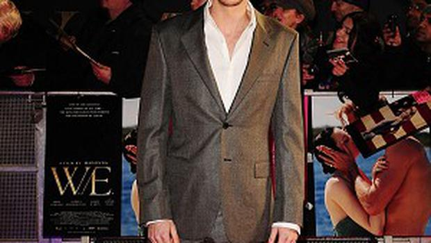 James D'Arcy had to shave his head for Cloud Atlas