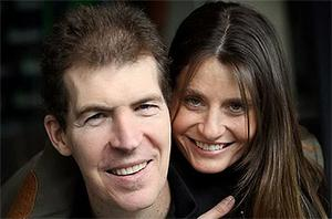 Jim Stynes with his wife Sam