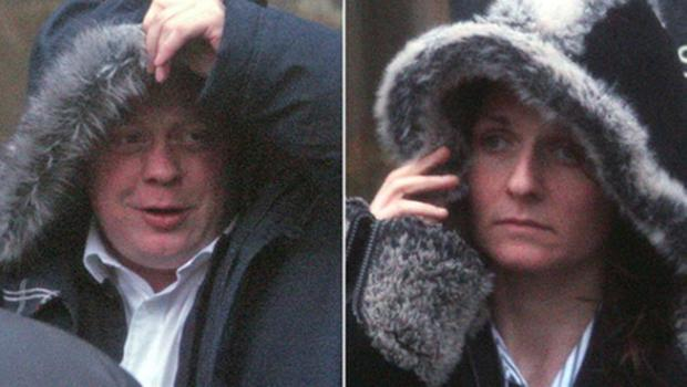 Steven Barclay and Leanne Reid refused to comment as they left court