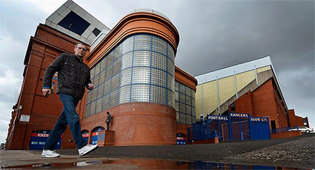 Rangers fans have hit out at the punishment handed out by the Scottish FA. photo: Getty Images