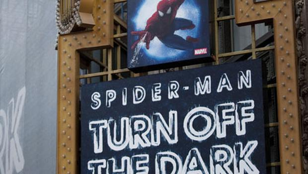 The official opening of the Broadway musical version of 'Spider-Man' may be postponed for a sixth time. Photo: Getty Images